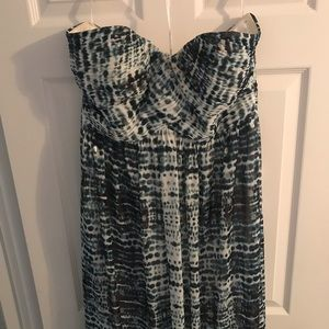 Brand new w/o tags strapless maxi dress